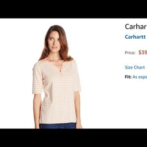 NWT Carhartt Striped T-shirt ❤️